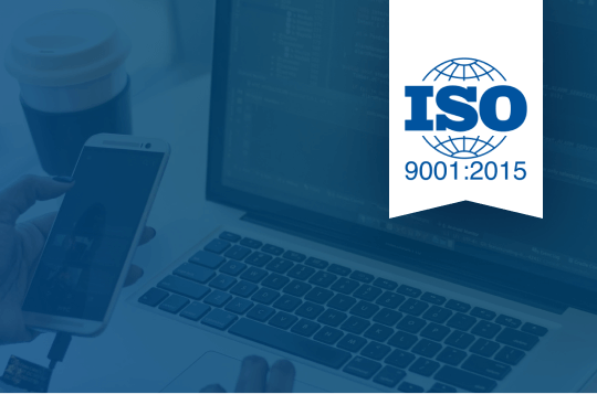 Blog article cover picture ISO 9001 certification at WWG